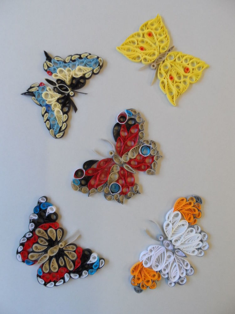 Past Times Quilling Kit - Butterflies