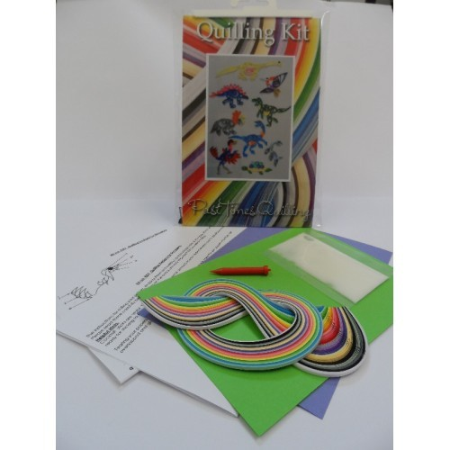 Past Times Quilling Kit - Dinosaurs