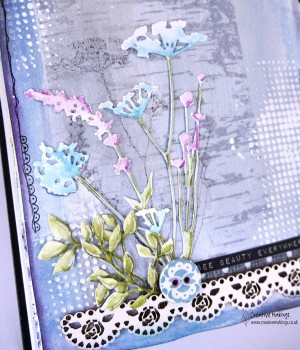 Tim Holtz wild flowers