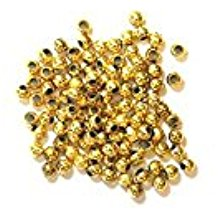 The Craft Factory Pearls - 3mm - Gold
