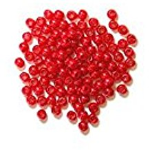 The Craft Factory Pearls - 3mm - Red