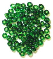 The Craft Factory E Beads - 4mm - Green