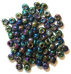 The Craft Factory E Beads - 4mm - Rainbow