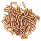 The Craft Factory Bugle Beads - 6mm - Bronze