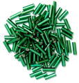 The Craft Factory Bugle Beads - 6mm - Green