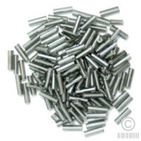 The Craft Factory Bugle Beads - 6mm - Metal