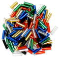 The Craft Factory Bugle Beads - 6mm - Multi