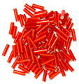The Craft Factory Bugle Beads - 6mm - Red