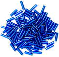 The Craft Factory Bugle Beads - 6mm - Royal Blue