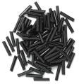 The Craft Factory Long Bugle Beads - 9mm - Black
