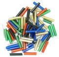 The Craft Factory Long Bugle Beads - 9mm - Multi