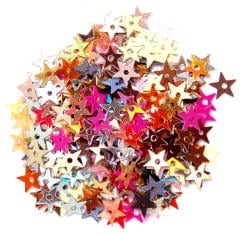 The Craft Factory Miniature Stars 5mm Assorted