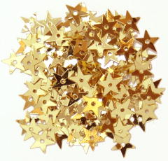 The Craft Factory Miniature Stars 5mm Gold