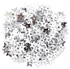 The Craft Factory Miniature Stars 5mm Silver