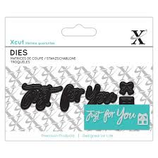 Mini Sentiment Die - Just For You