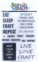 Creative Quotes - A6 Stamp set