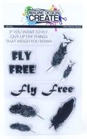 Fly Free: IDC - A6 Stamp set