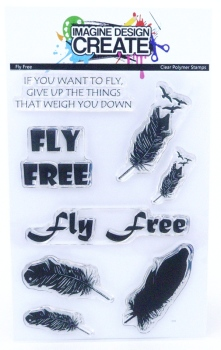 Fly Free: IDC - A6 Stamp set