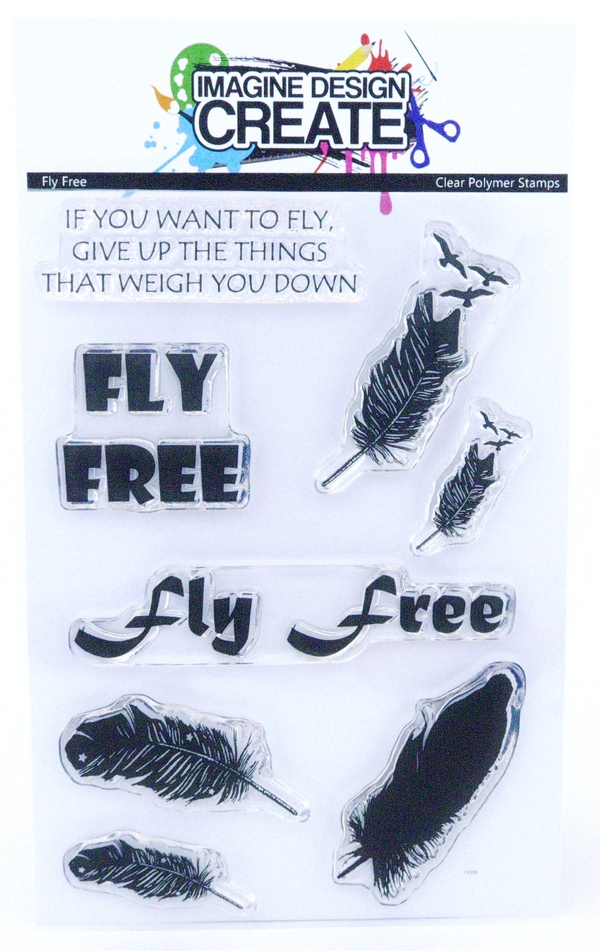 Fly Free - Stamps