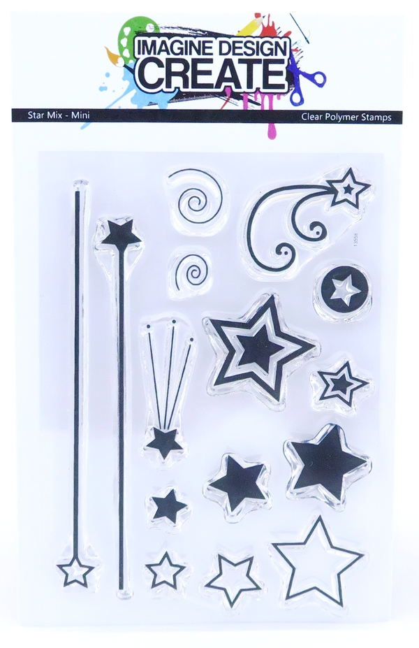 Mini Stamps - Star Mix