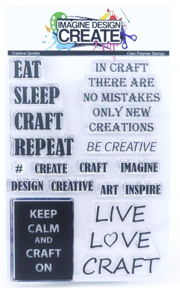 Imagine Design Create Stamps