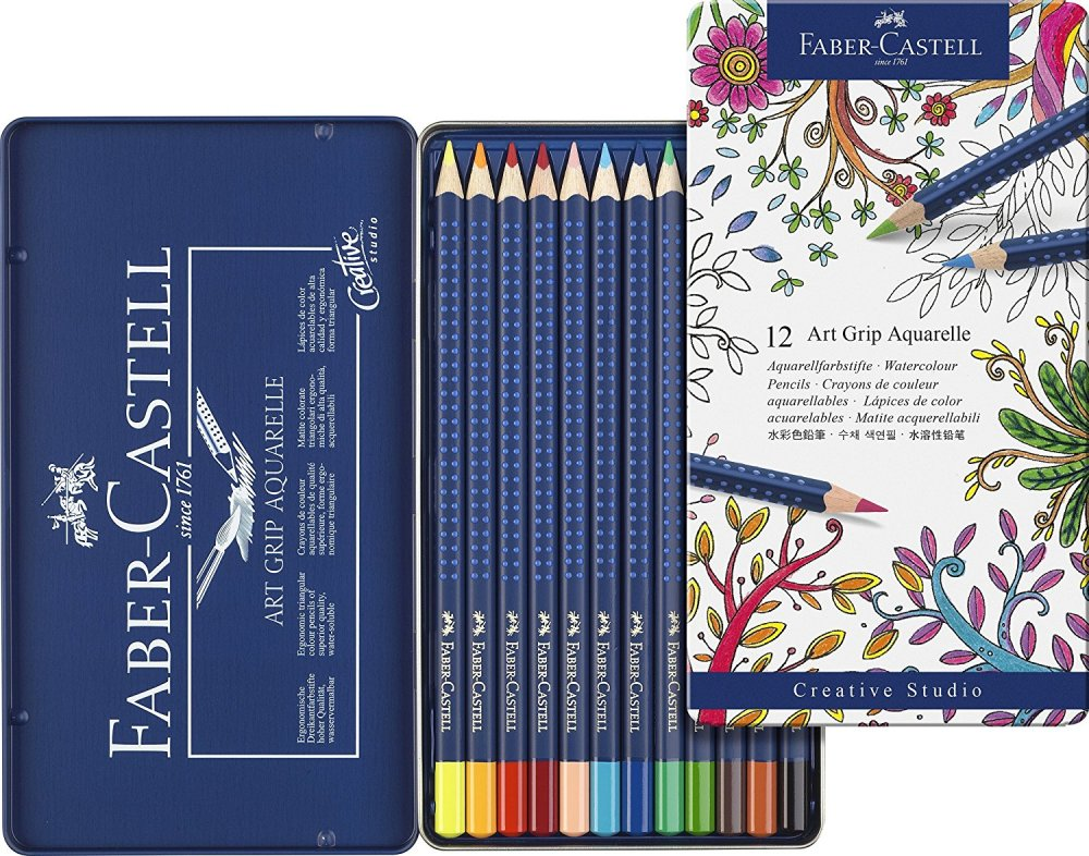 Faber Castell - Art grip Aquarelle 12 pack.