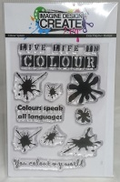Colour Splash - A7 stamp set