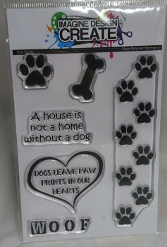 Paw Prints -A6  Stamp set