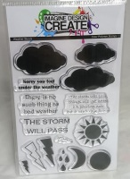 Weather Words:  - A6 Stamp set