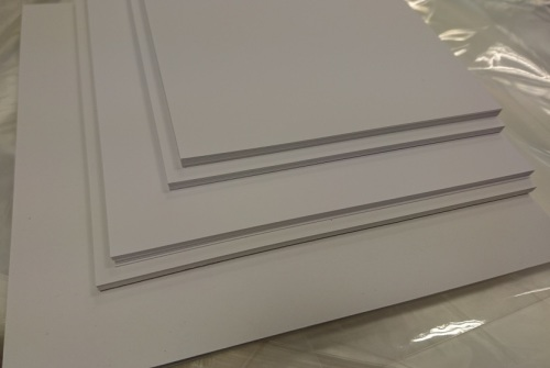 "120mm x 120mm  / 4¾"" x  4¾"" (20 pack) 300gsm White Mat & Layer Card C"
