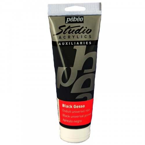 Pebeo Studio Acrylics Gesso - Black