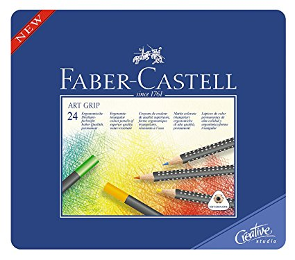 Faber Castell - Art grip pencils 24pk