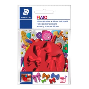 Fimo Silicon Push Mould - Bows