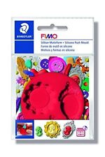 Fimo Silicon Push Mould - Cameo