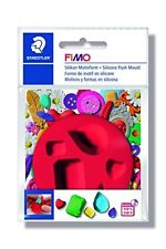 Fimo Silicon Push Mould - Gems