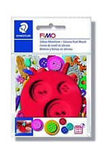 Fimo Silicone Push Mould - Buttons