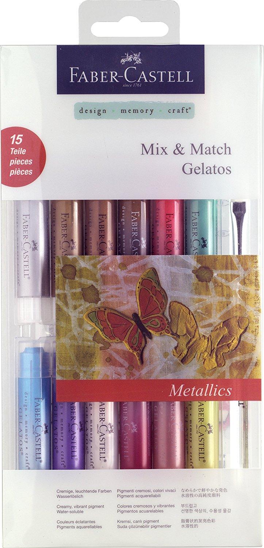 Faber Castell Mix & Match Gelatos - Metallics
