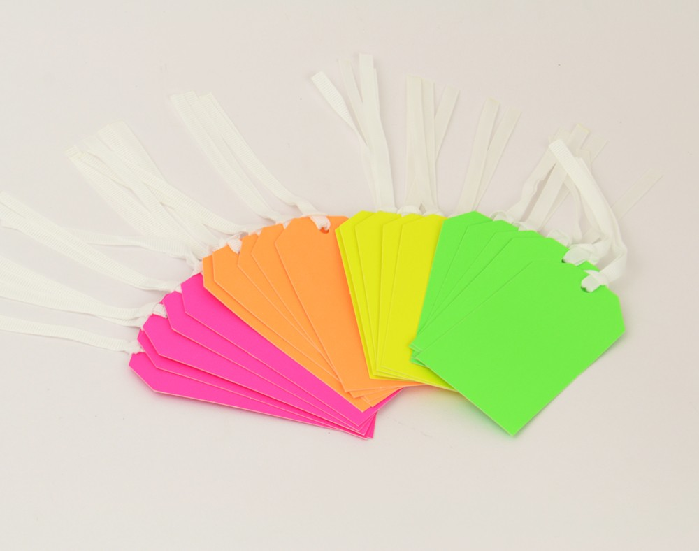 Docrafts Neon tags