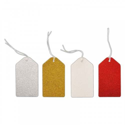Docrafts glitter gift tags