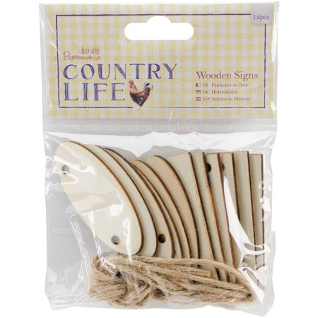 Country Life Wooden Signs