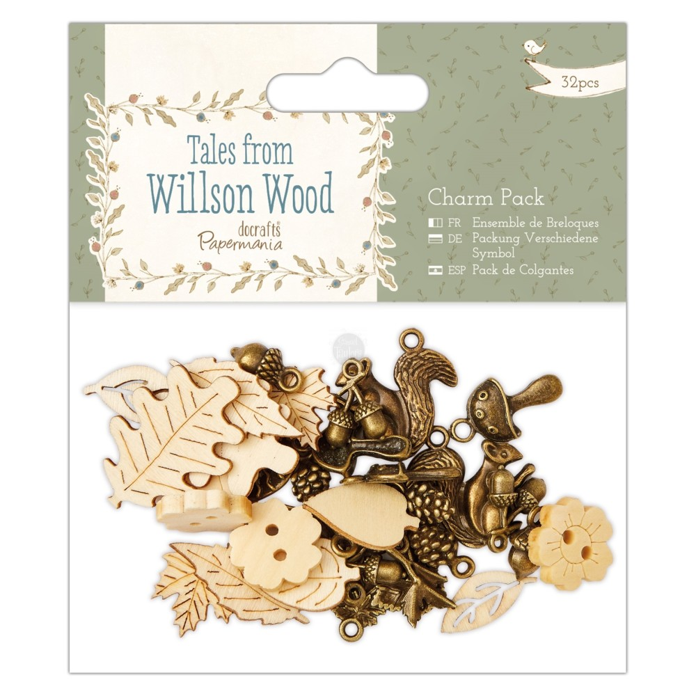 Tales from Wilson Wood Charm Pack