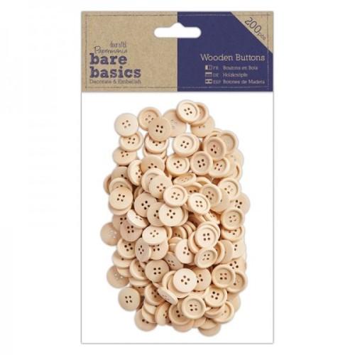 Wooden Buttons - 200