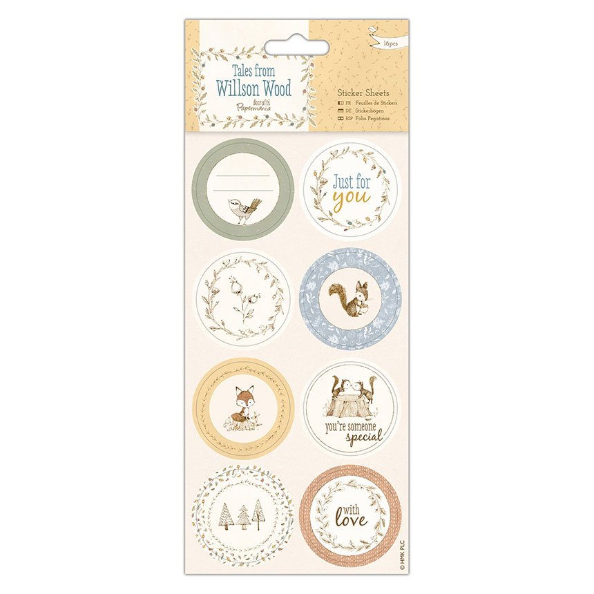 Tales from Willson Wood Sticker Sheets