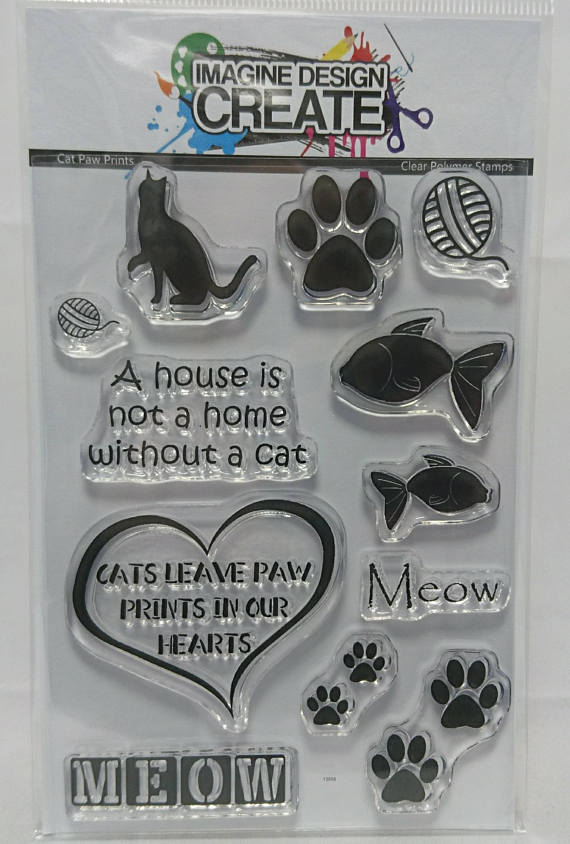 Cat Paw Prints - Stamps