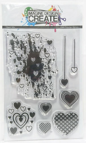Heart Mix - Stamps