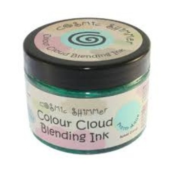 Cosmic Shimmer Colour Cloud Blending Ink - Frosty Aqua