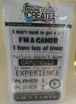 Gamer Quotes - A7 Stamp set