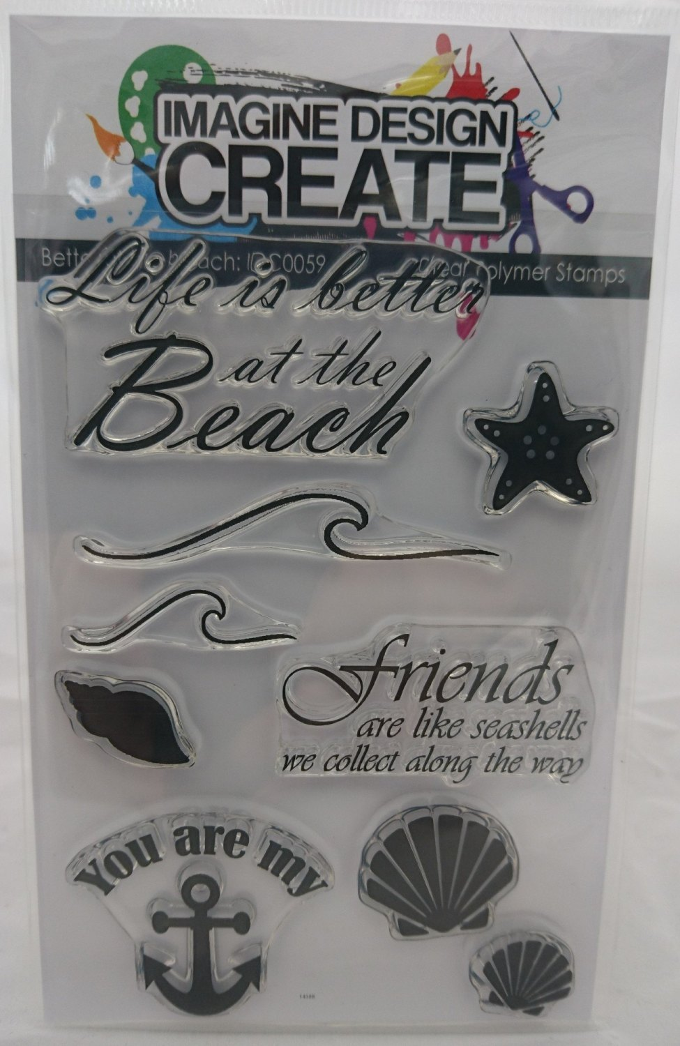 Better at the Beach - Stamps