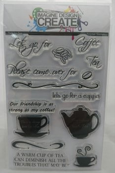 Time for Tea:  - A6 Stamp set