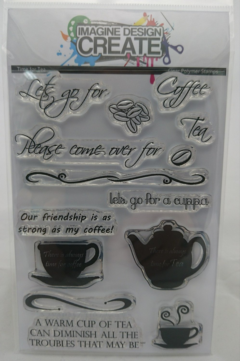 Time for Tea - Stamps